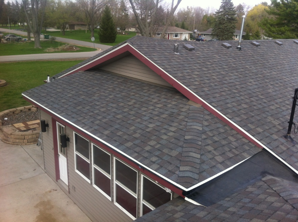 Driftwood shingle installation in Milwaukee
