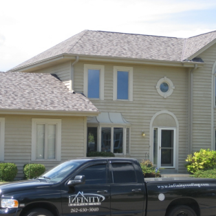 Mission Brown asphalt roofing in Milwaukee