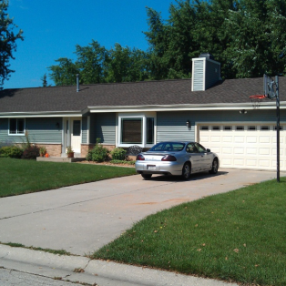 Weatherwood asphalt roofing replacement Wisconsin