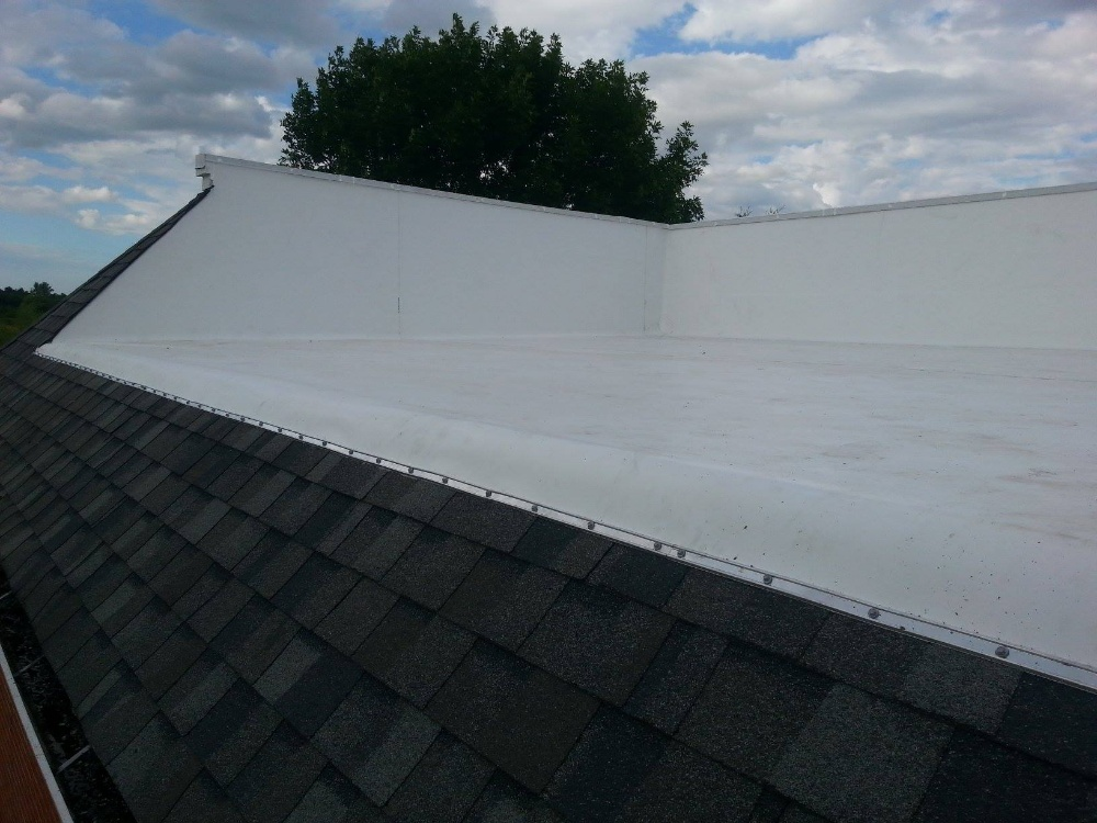 Wisconsin TPO commercial roof installation