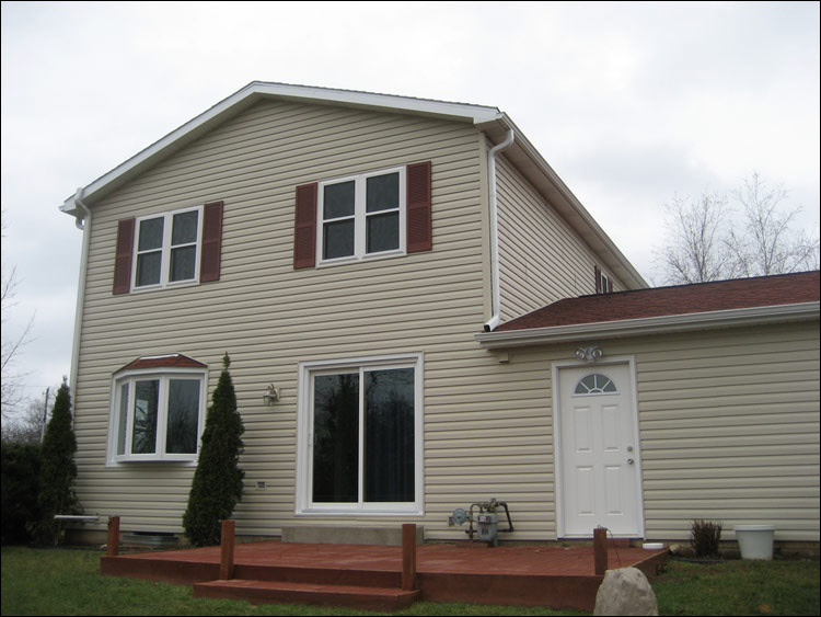 Genesee Wi Home with All New Siding and New Bay Window Which Did Not Exist Before!!
