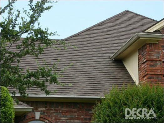 ... Milwaukee Roof Install Of Decra Shingles ...