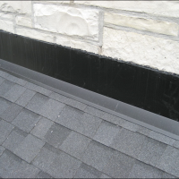 Wauwatosa Wisconsin Roofing Repair - Custom Flashed Chimney