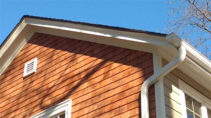 Seamless Aluminum Gutter Installation By Waukesha Roofers