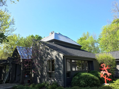 Custom Metal Roofing Installed near Milwaukee